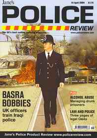 "Cover of the  ""Police Review"""