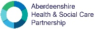 Aberdeenshire Health and Social Care Partnership logo