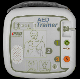 Image of defibrillator trainer
