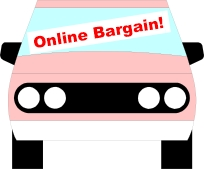 Bargain vehicle logo