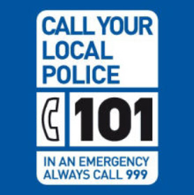 National Police non-emergencyphone number logo