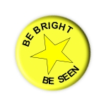 Be bright Be Seen logo