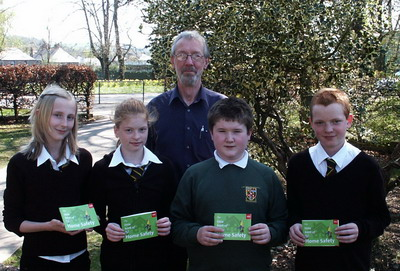 Gordon Schools pupils receive the book